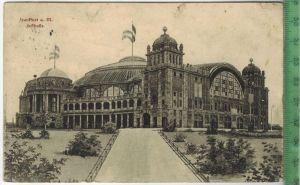 Frankfurt a. M. Festhalle  1912Verlag: L. Klement, Frankfurt, – Postkarte Frankatur,  Stempel, FRANKFURT (MAIN) 11