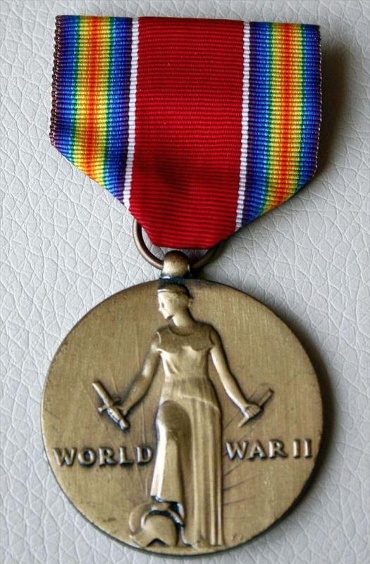 Orden Amerika, World War II, Victory Medal+Zustand; sehr Gut