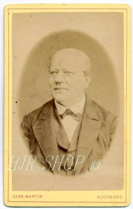 Gebr. Martin, Augsburg vor 1900 kl. Format, s/w., I-II,