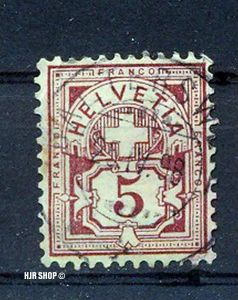 1882, 1. April, Freimarken
