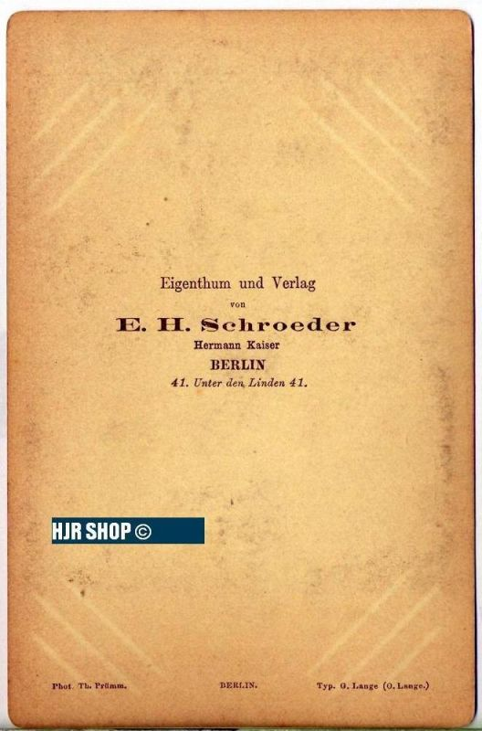 Photografie Chr. von Gluck 1