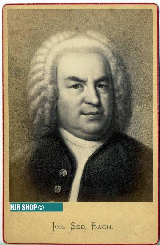 Photografie Joh. Seb. Bach