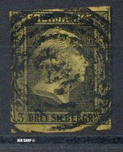 1858, Juli. König Friedrich Wilhelm IV. (III) MiNr. 12 gest.  Guter Zustand