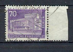 1956 Berliner Stadtbilder II, Minr. 152 gest. mit rechtem Seitenrand