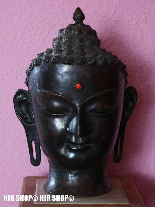 Buddhakopf groß, alter unbekannt