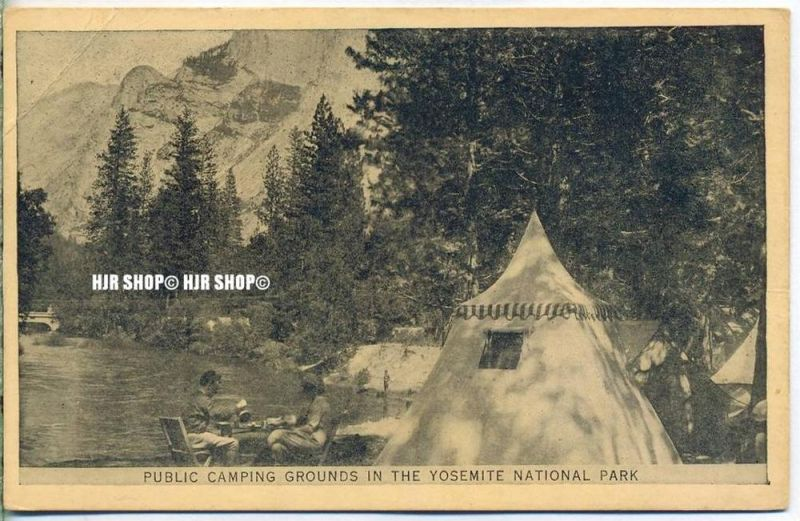 """um 1920/1930 Ansichtskarte,  """"National Park""""  ungebrauchte Karte"""