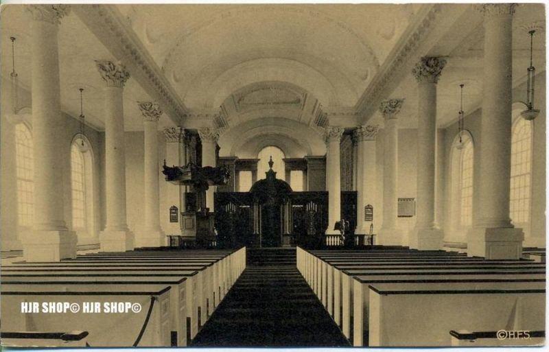 """um 1940/1950 Ansichtskarte,  """"Harvard Yard""""  ungebrauchte Karte"""