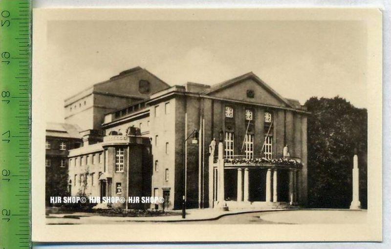 Stralsund, ca. 1920/1930,  Sammelfoto 9 x 6 cm,  Landestheater