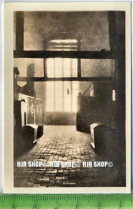 Stralsund, ca. 1920/1930,  Sammelfoto 9 x 6 cm,  Rauchboden im Johanniskloster