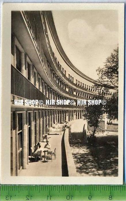 Stralsund, ca. 1920/1930,  Sammelfoto 9 x 6 cm,  Krankenhaus am Sund, Südseite