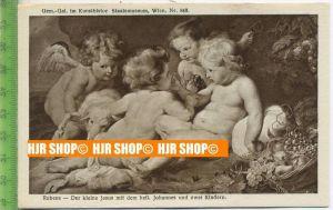 """""""Rubens-Der kleine Jesus""""   ungebrauchte Karte"""