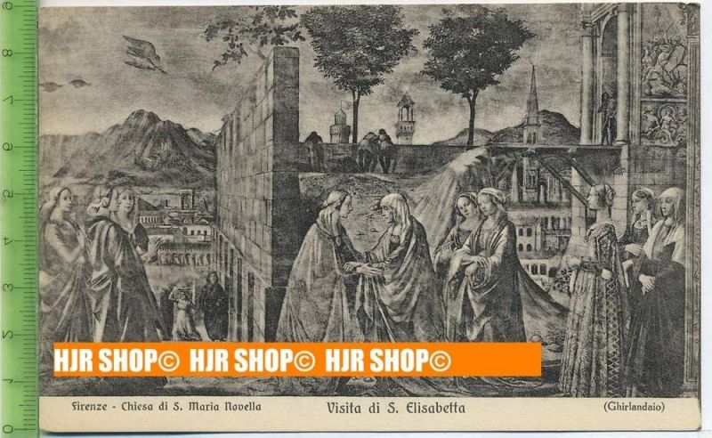 """""""Visita di S. Elisabetta""""   ungebrauchte Karte"""