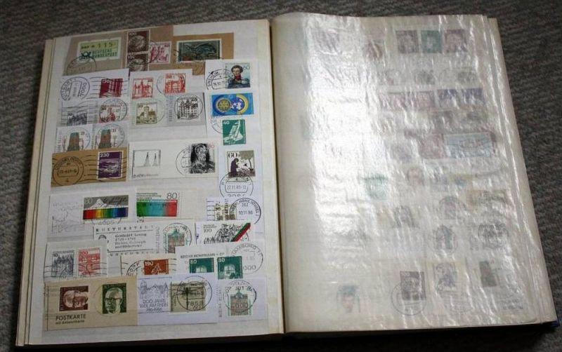 Briefstücke, Europa mit Marken und Stempel 1