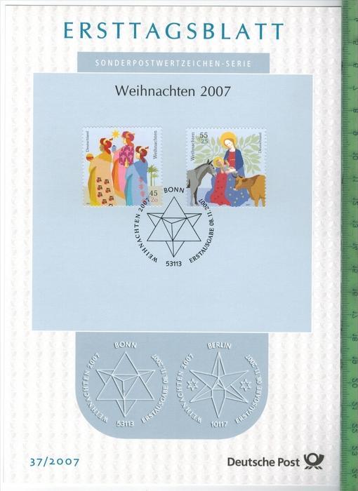 Bund/ETB2007/37 Zustand: I-II