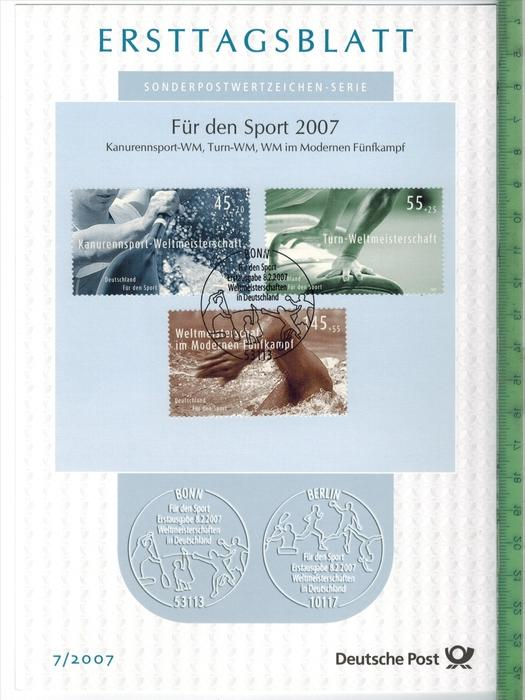 Bund/ETB2007/7 Zustand: I-II