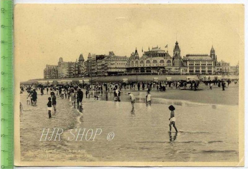 Oostende-Het Strand gel. 1935