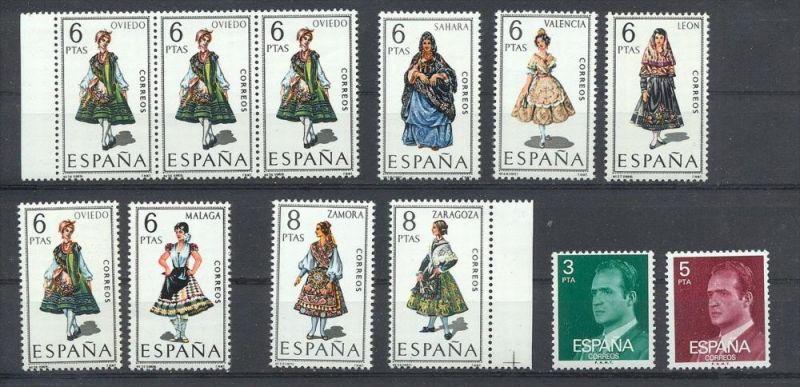 Spanien, Konvol. Briefmarken **,  Zustand: Gut