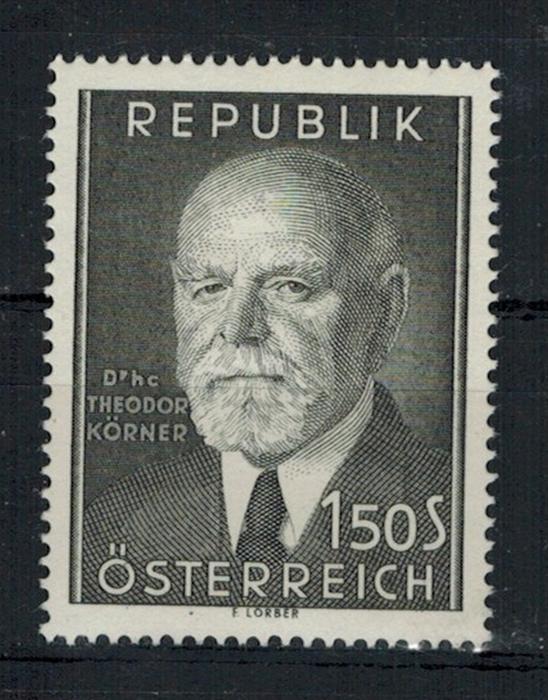 1953 Österreich Minr. 982** Zustand: I-II