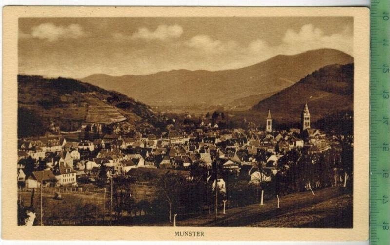 Munster 1930/1940 Verlag: felix Luib, Postkarte Erhaltung: I-II, verso, beschrieben  Karte wird in Klarsichthülle versch