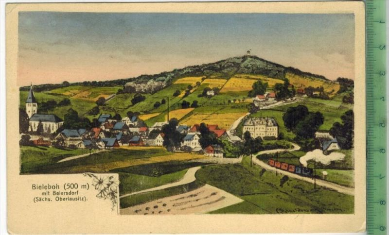Bieleboh, mit Beiersdorf 1920/1930 Verlag: ---------, Postkarte Erhaltung: I-II, Unbenutzt  Karte wird in Klarsichthülle