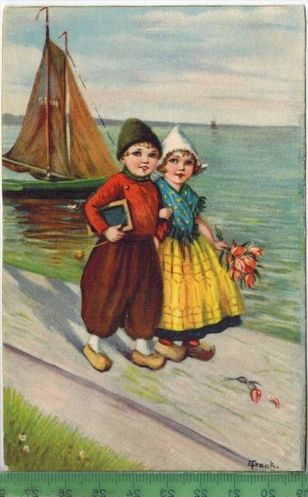 Kinder 1929 Verlag: ---------- Postkarte ohne Frankatur  und Stempel BORKUM, 26.7.29 MIT BEFÖRDERUNGSSPUREN,  Erhaltung: