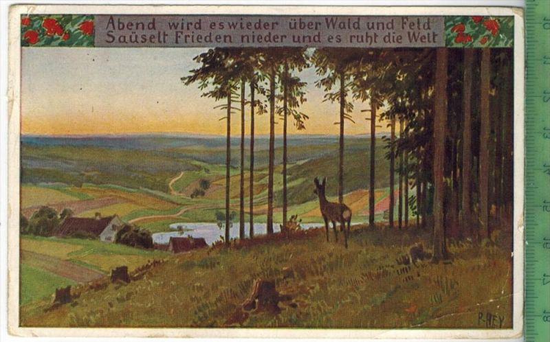 Volsliedkarte Nr.65, 1929 Verlag: ---------- Postkarte ohne Frankatur  und Stempel ?POTSDAM 27.11.29 MIT BEFÖRDERUNGSSPU