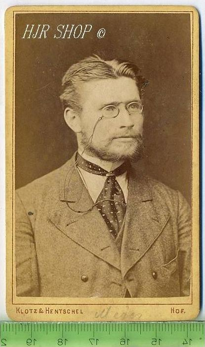 Fotographie, Klotz & Hentschel, Hof