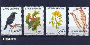 1992,Blumen+Vögel gest.,