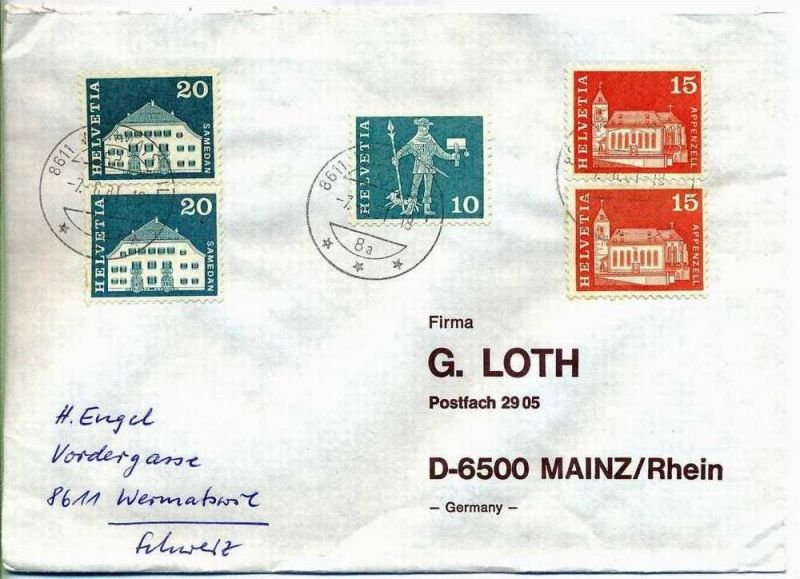 Brief, 07.08.1981, Wermatswil – Mainz,