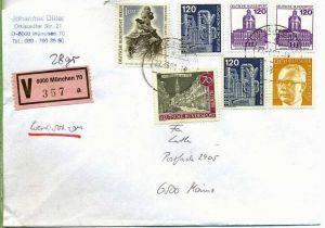 Brief, 27.03.1981, München – Mainz,