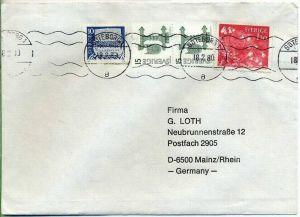 Brief, 18.02.1980, GÖTEBORG 1 – MAINZ,