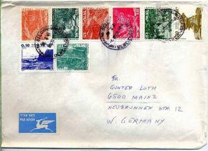 Luftpost-Brief, 19.02.1980, TEL AVIV – MAINZ