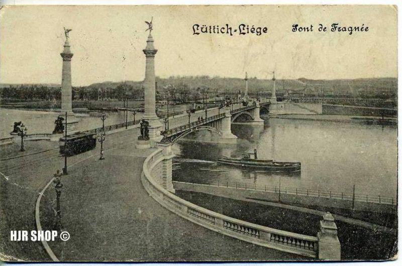 Feld-Postkarte, Lüttich-Liege