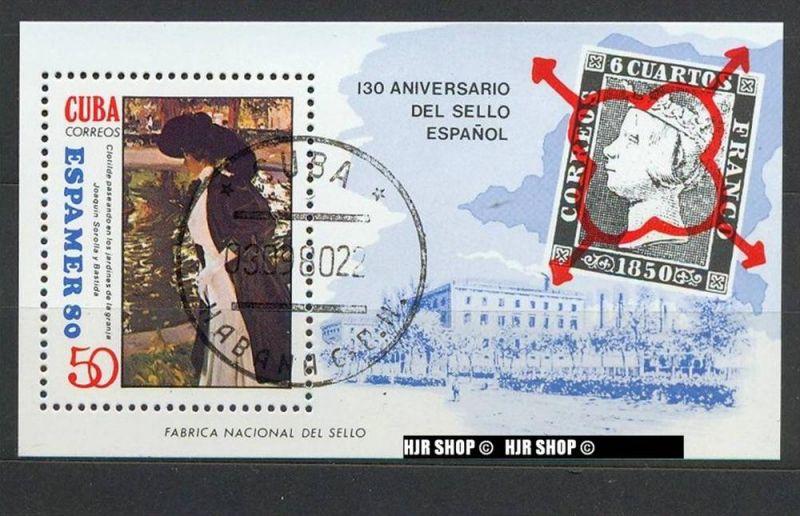 1980,ESPAMER 80, BL. 63 Gest.