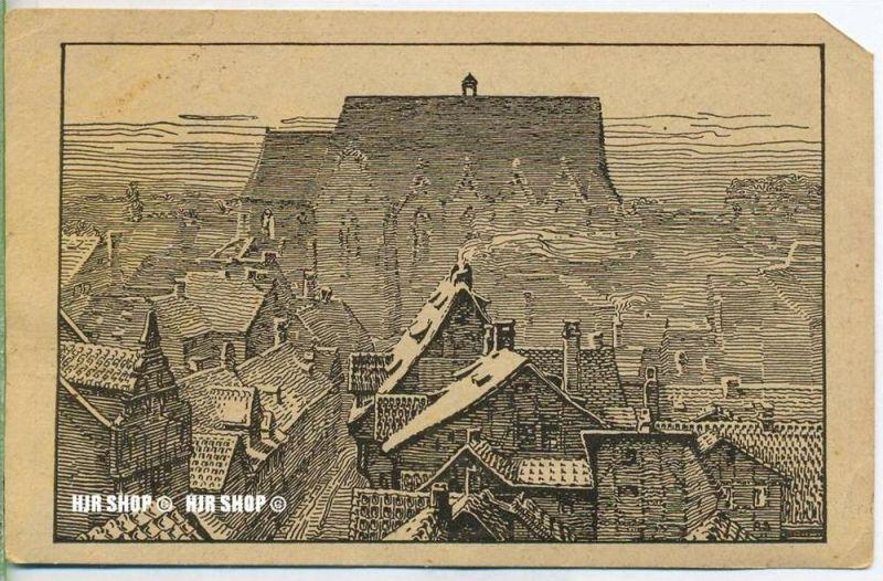 """um 1920/1930 Ansichtskarte  """" St. Uegidien"""" , ungebrauchte Karte"""