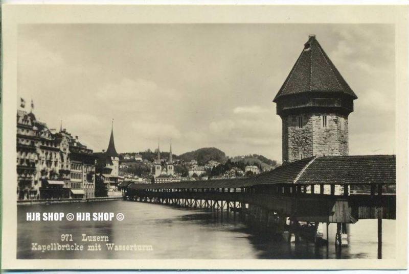 """um 1920/1930 Ansichtskarte,  """"Luzern""""  ungebrauchte Karte"""