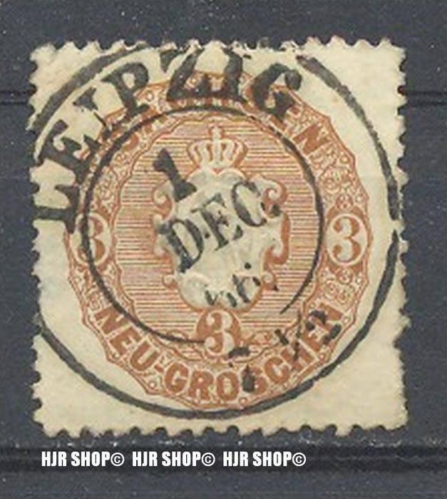 1863, Staatswappen,MiNr.18 gest.