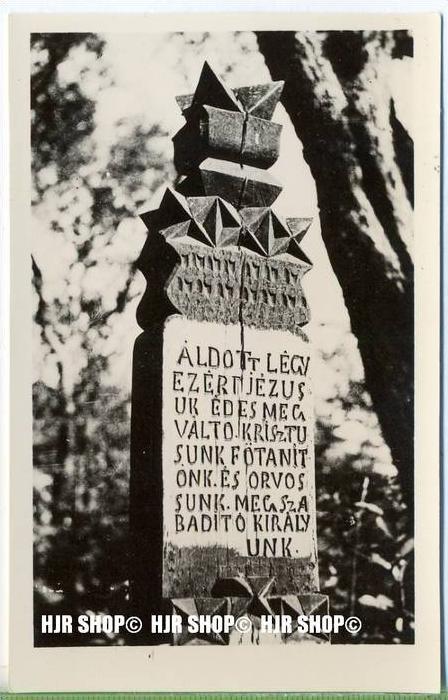 """""""Kalotaszeg"""" um 1930/1940, Ansichtskarte, ungebrauchte Karte"""