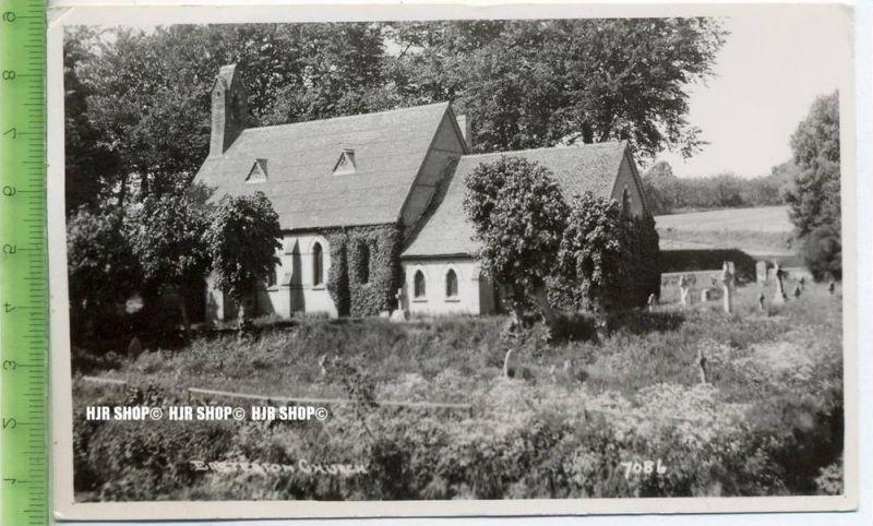 """""""Kirche""""  um 1950/1960  , Ansichtskarte mit Frankatur, mit Stempel,"""