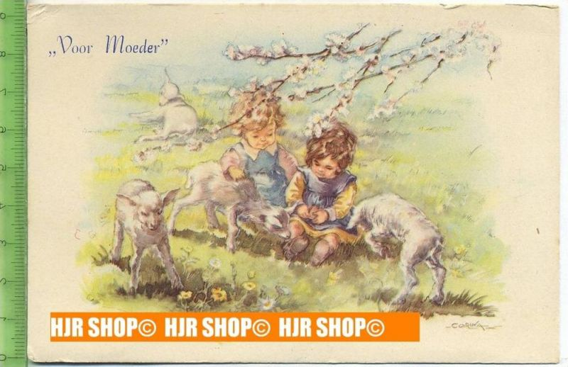 """""""Voor Moeder"""" um 1950/1960, Ansichtskarte  ungebrauchte Karte"""