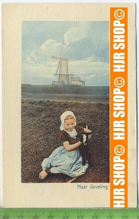 """""""Haar Lieveling"""" um 1950/1960, Ansichtskarte  ungebrauchte Karte"""