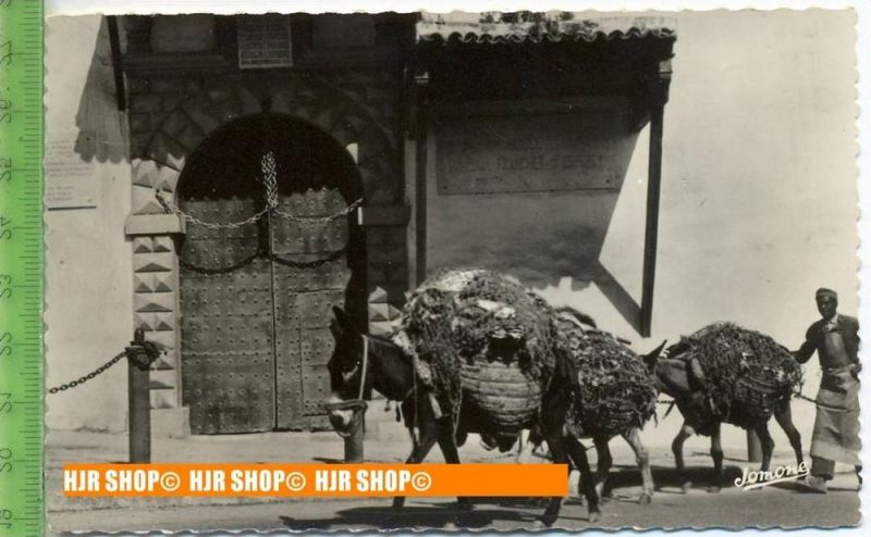 """""""Eselstreiber, Händler"""", um 1940/1950,  Ansichtskarte  ungebrauchte Karte"""