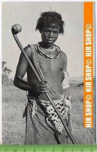 """""""Swazi Warrior"""",   Ansichtskarte  ungebrauchte Karte"""