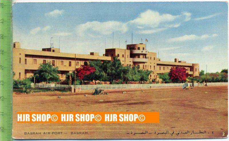 """""""Basrah Air-Port"""",   Ansichtskarte  ungebrauchte Karte"""