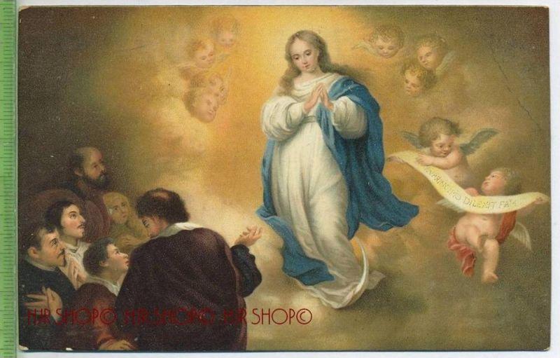 B.E. Murillo, paris, La Conception Immaculèe de la Vierge Um 1900/1910 Verlag: Stengel&Co., GmbH, Dresden,  nr.29022  Po