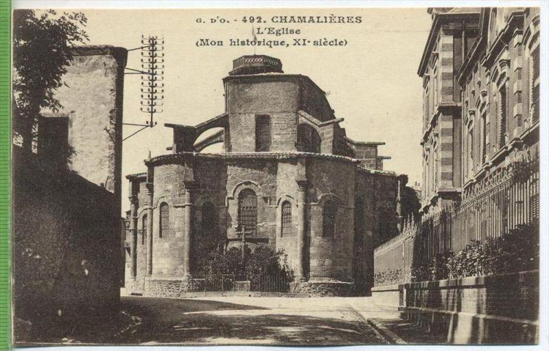 Chamalieres, L`Eglise,1920/1930 Verlag:  , POSTKARTE Erhaltung: I-II Karte wird in Klarsichthülle verschickt. (H)