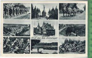 Gruß aus dem Sennelager um 1930/1940 Verlag: Hermann Lorch, Dortmund , POSTKARTE Erhaltung: I-II Karte wird in Klarsicht