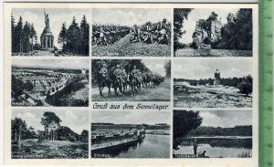 Gruß aus dem Sennelager um 1930/1940 Verlag: Hermann Lorch Nr. 9678, Dortmund, POSTKARTE Erhaltung: I-II Karte wird in K