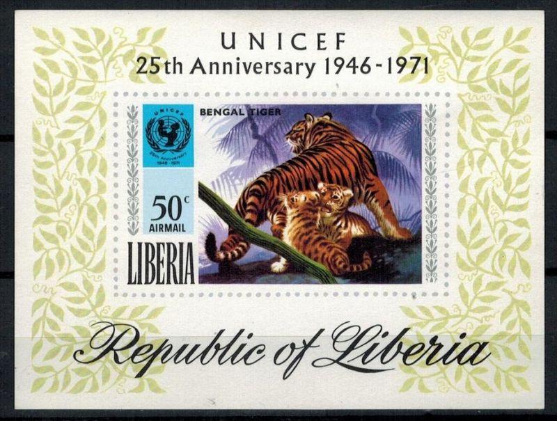 Liberia 1971, Block ** Zustand: Gut