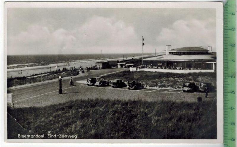 Bloemendaal, Eind-Zeeweg, 1940Verlag: J. Sleding, Amsterdam, –  PostkarteRückseite beschriebenunbenutzte Karte,Unt